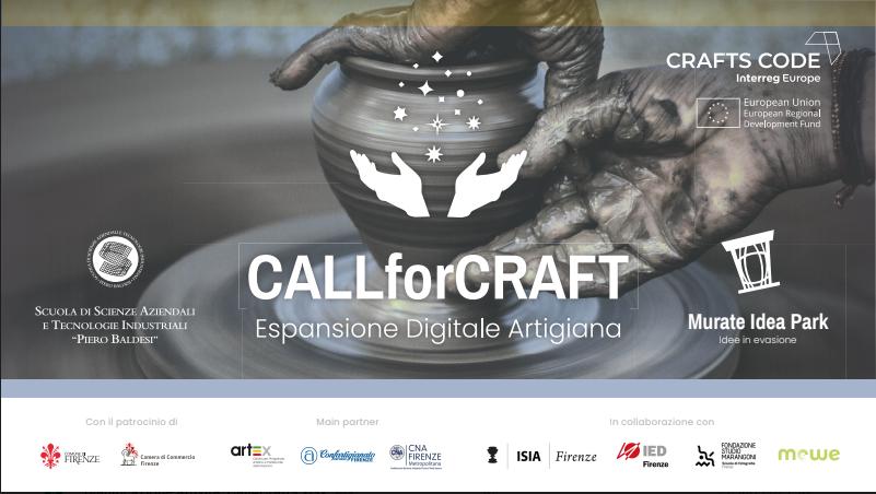 CALLforCRAFT: il bando di Murate Idea Park per il sostegno digitale agli artigiani dell'area metropolitana di Firenze